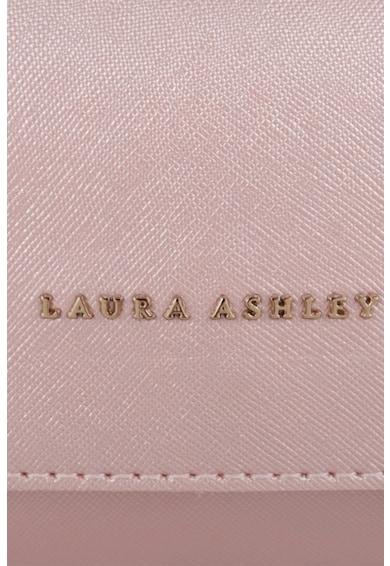 Laura Ashley Geanta plic de piele ecologica, cu bareta de lant Femei