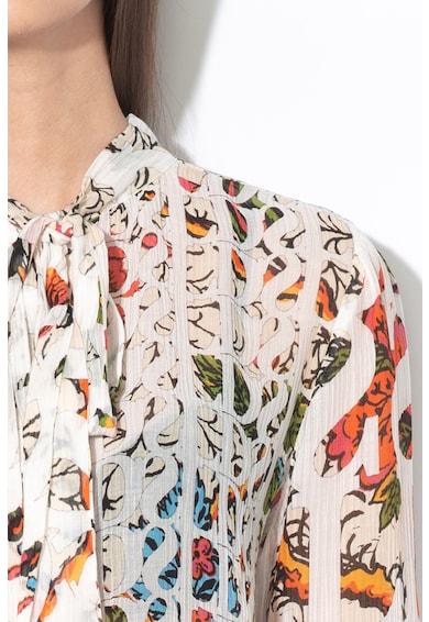 DESIGUAL Блуза Lua с коприна Жени