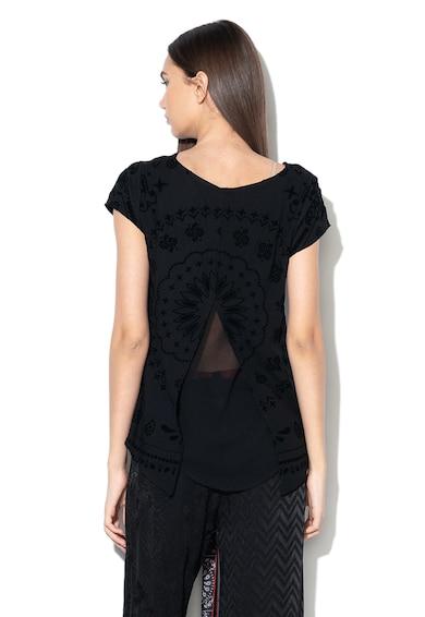 DESIGUAL Bluza cu imprimeu catifelat Muih Femei
