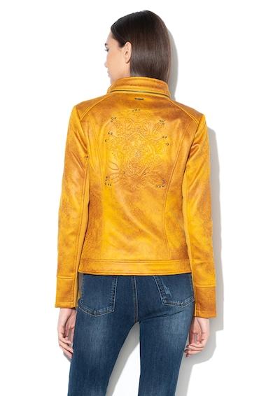 DESIGUAL Millet cipzáros dzseki domború részletekkel női