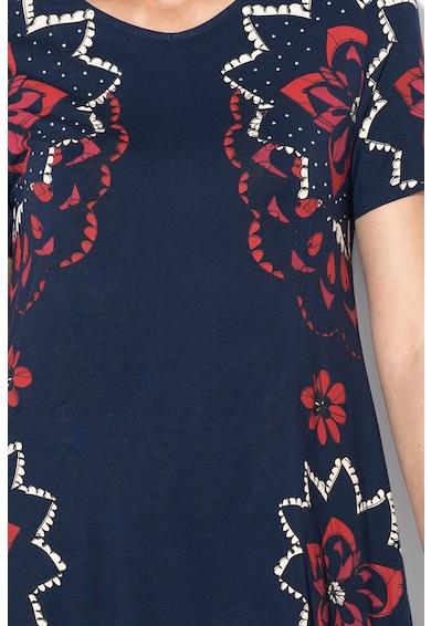 DESIGUAL Rochie cu imprimeu floral si nituri Anna Femei