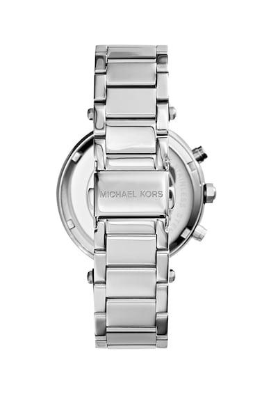 Michael Kors Часовник Parker с хронограф и кристали Жени