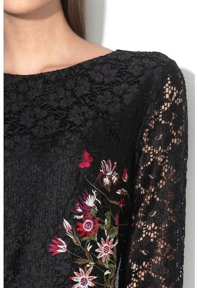 DESIGUAL Rochie de dantela cu broderie florala Bergen Femei