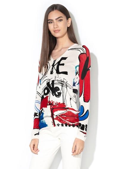 DESIGUAL Пуловер Winnipeg с шпиц деколте Жени