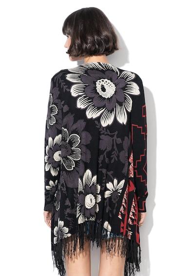 DESIGUAL Жилетка Detroit с флорална и фигурална шарка Жени