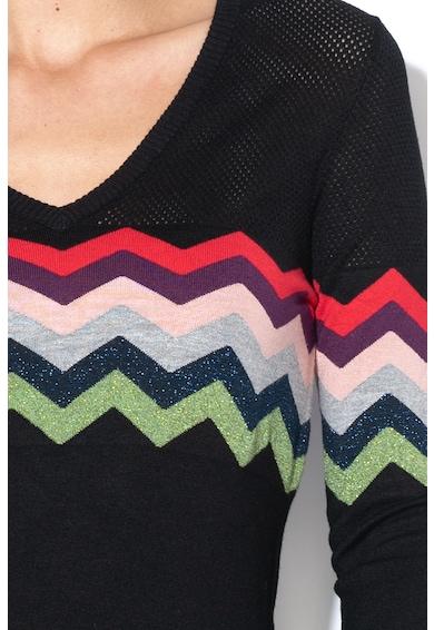DESIGUAL Фино плетен пуловер San Diego Жени