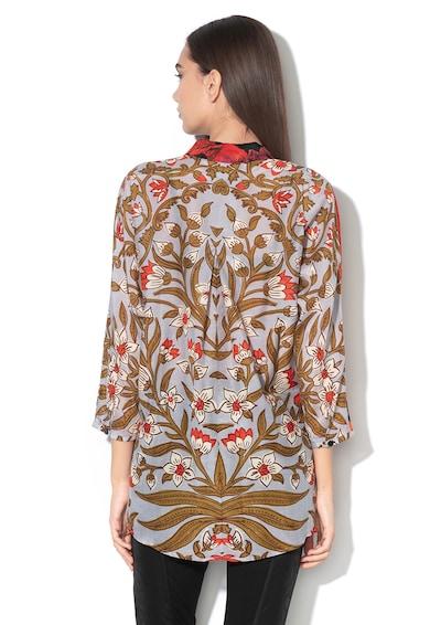 DESIGUAL Риза Copenhagen с коприна и флорален десен Жени