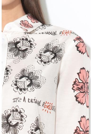 DESIGUAL Флорална риза Aslan Жени