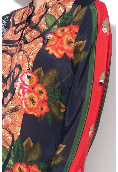 DESIGUAL Camasa cu imprimeu floral si geometric Jenica Femei