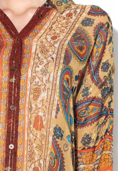 DESIGUAL Camasa cu model floral, accesorii cu canafi si insertii lucioase Shuri Femei