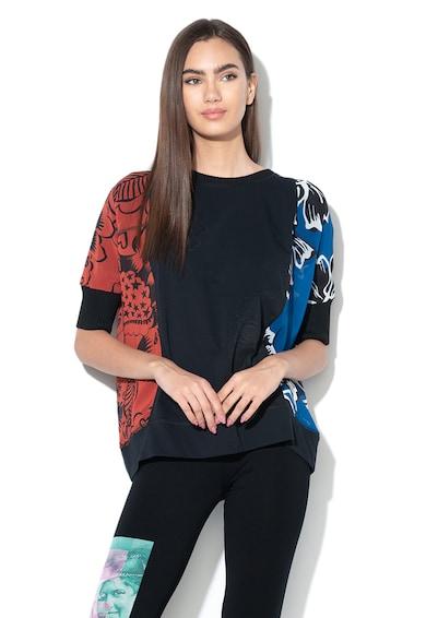 DESIGUAL Bluza lejera cu imprimeu floral Adash Femei