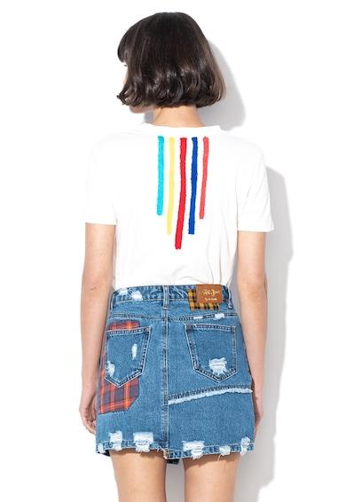 DESIGUAL Tricou cu aplicatie frontala cu model grafic Viveca Femei