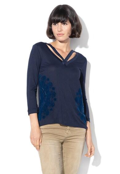 DESIGUAL Bluza cu decolteu in V Lorren Femei