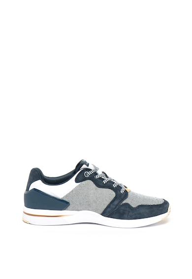 Pepe Jeans London Pantofi sport slip-on cu garnituri de piele nabuc Jayker Dual D-Limit Barbati