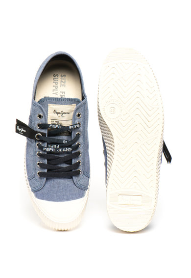 Pepe Jeans London Tenisi cu aspect de denim IN-G Barbati