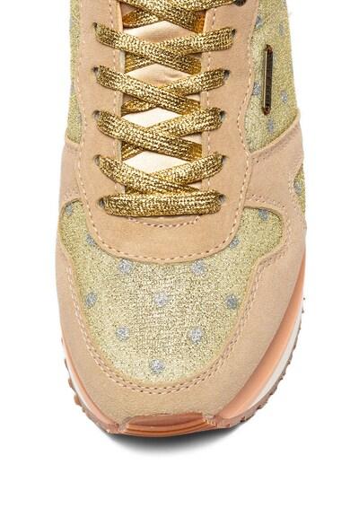 Pepe Jeans London Pantofi sport cu garnituri de piele intoarsa Zion Femei