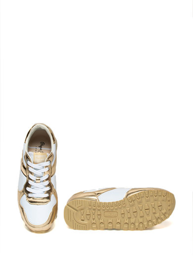 Pepe Jeans London Pantofi sport cu detalii metalizate Verona Femei