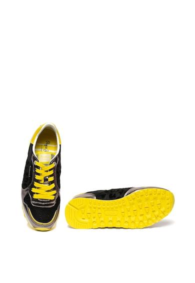 Pepe Jeans London Pantofi sport cu detalii animal print Verona Femei