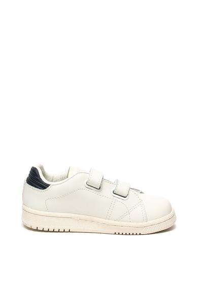 Pepe Jeans London Pantofi sport de piele cu velcro Brompton Fete