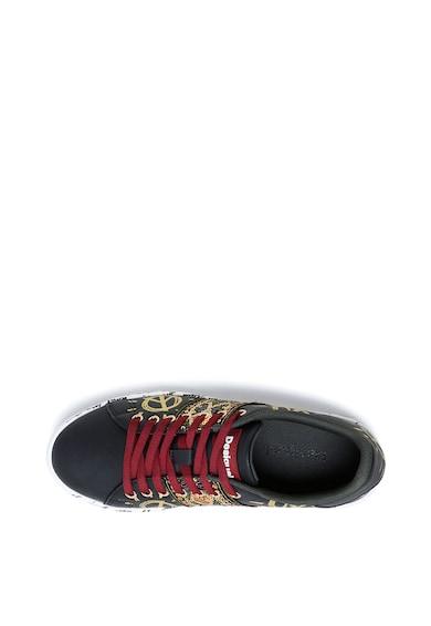 DESIGUAL Pantofi sport cu imprimeu si paiete Cosmic Femei