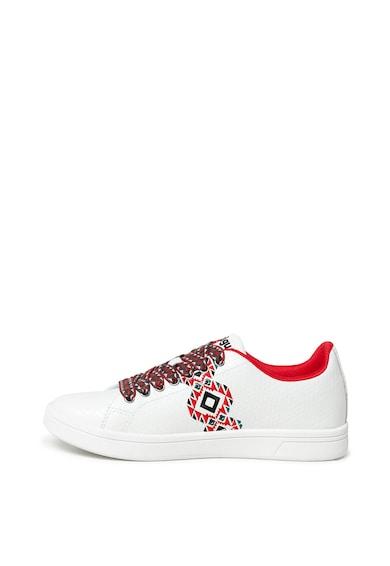 DESIGUAL Pantofi sport de piele ecologica Navajo Femei