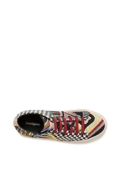 DESIGUAL Десенирани спортни обувки Vulcano Patch Жени