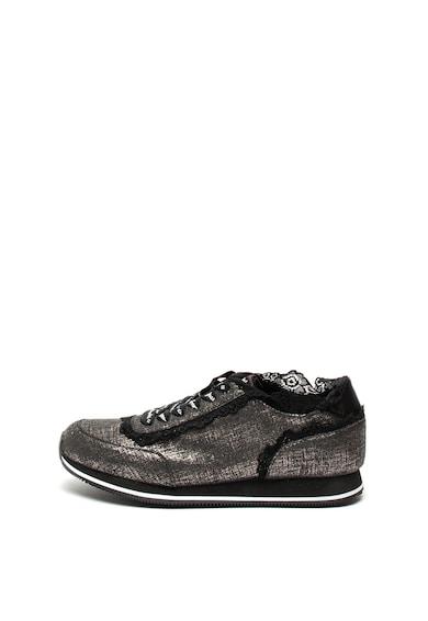 DESIGUAL Pantofi sport cu aspect stralucitor Pegaso Femei