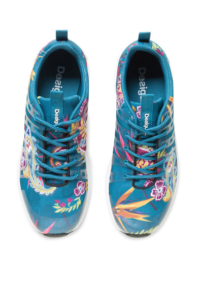 DESIGUAL Спортни обувки с флорална шарка Жени