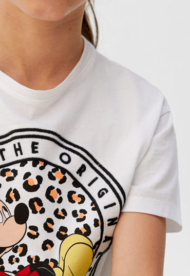 Mango Тениска с десен Момичета