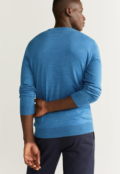 Mango Pulover tricotat fin din lana Merinos Willy Barbati