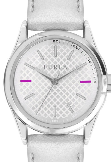 Furla Часовник с метализирана кожена каишка Жени