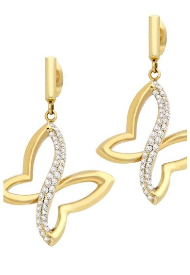 Morellato Позлатени обеци с кристали Жени