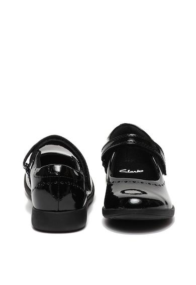 Clarks Лачени обувки Etch Craft Mary Jane Момичета