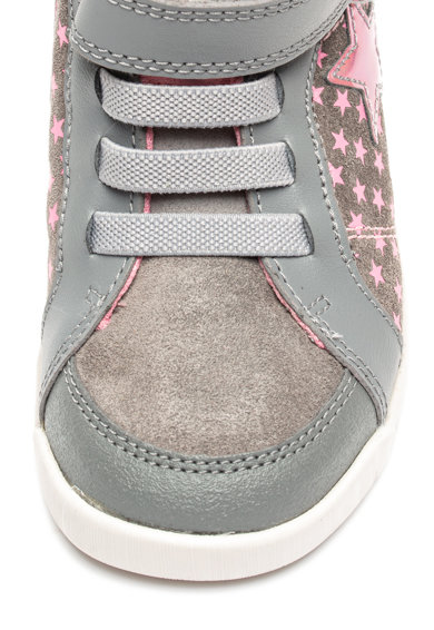 Clarks Pantofi sport mid-high cu model cu stele Emery Fete