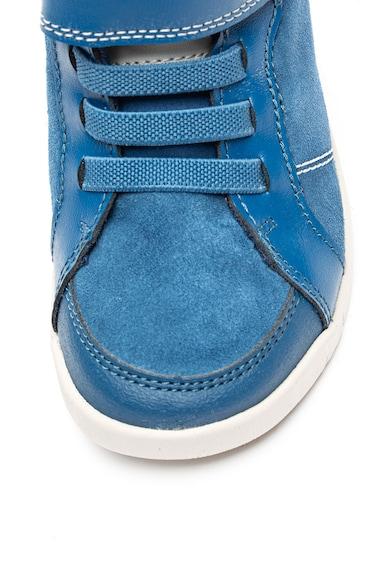 Clarks Велурени спортни обувки Emery Beat Момичета