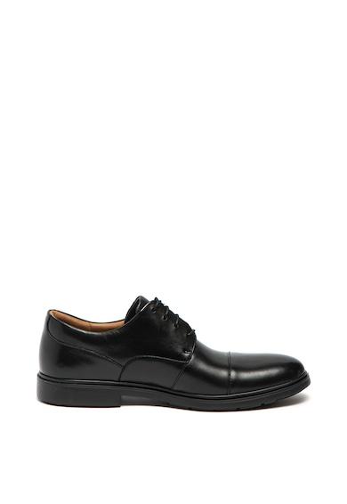 Clarks Pantofi derby de piele Un Tailor Cap Barbati