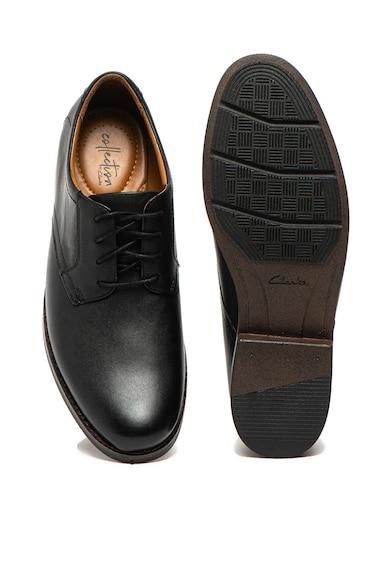 Clarks Pantofi de piele Becken Lace Barbati