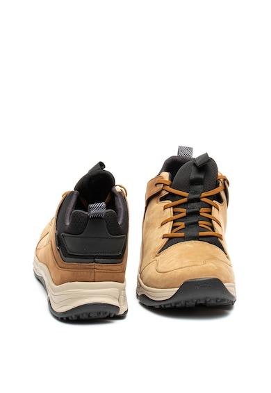 Clarks Pantofi sport impermeabili de piele nabuc Tri Path Barbati