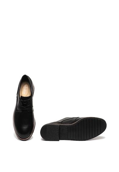 Clarks Pantofi derby de piele Griffin Lane Femei