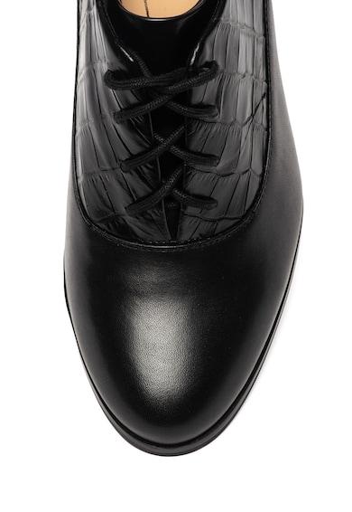 Clarks Кожени обувки Kaylin Ida Oxford Жени