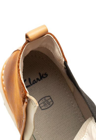 Clarks Ghete Chelsea de piele nabuc Crown Fete