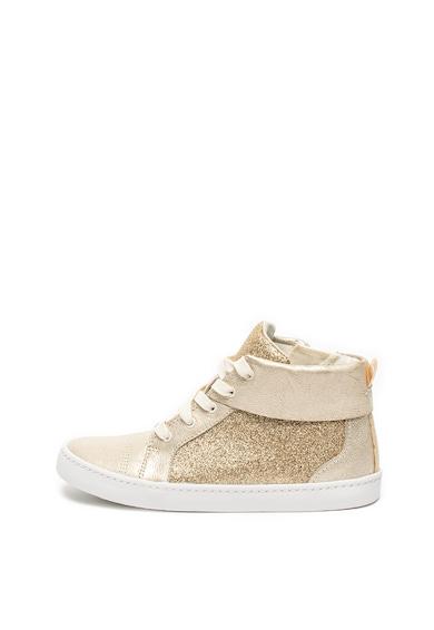 Clarks Pantofi sport inalti cu segmente stralucitoare City Oasis Fete