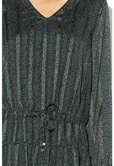 Silvian Heach Collection Ejtett derekú állatmintás ruha női