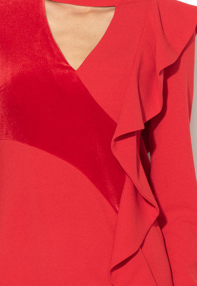 Silvian Heach Collection Zemura bodycon fazonú ruha elülső kivágással női