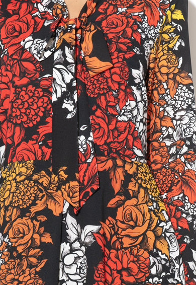 Silvian Heach Collection Rochie midi cu imprimeu floral Massaguet Femei