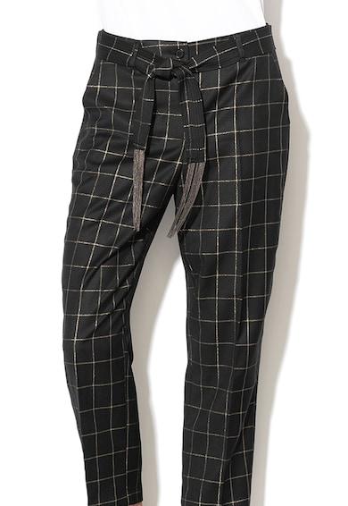 Silvian Heach Collection Pantaloni capri cu model in carouri Kibaxe Femei