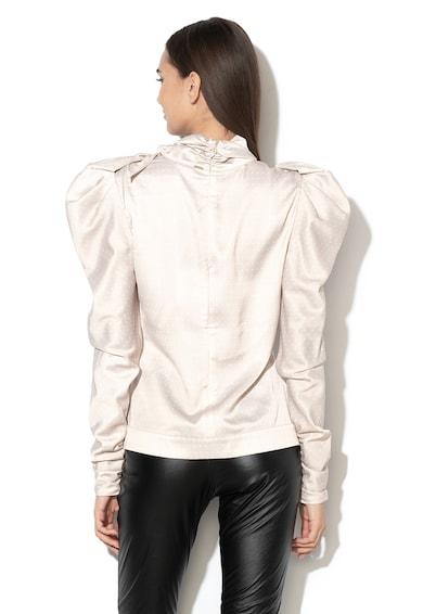 Silvian Heach Collection Bluza de satin cu insertii de dantela crosetata Kissongo Femei