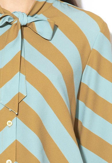Silvian Heach Collection Yavari csíkos ing nagy masnival női