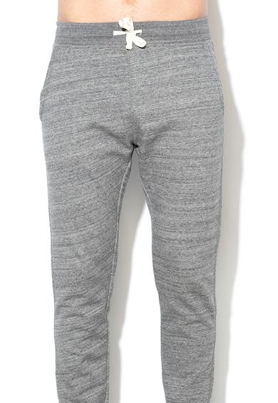 BLEND Pantaloni sport cu snur in talie si captuseala din fleece Barbati