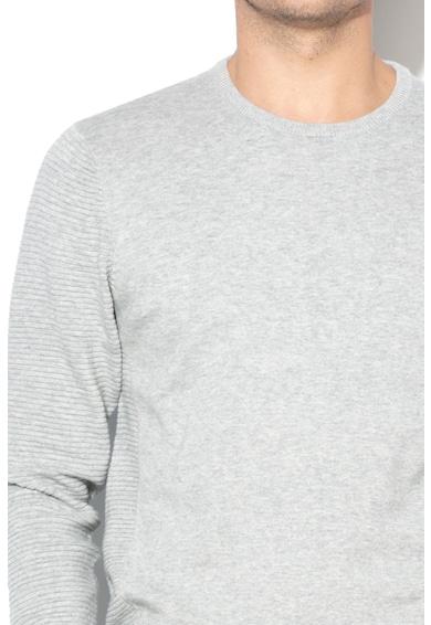 BLEND Pulover tricotat cu detalii striate Barbati